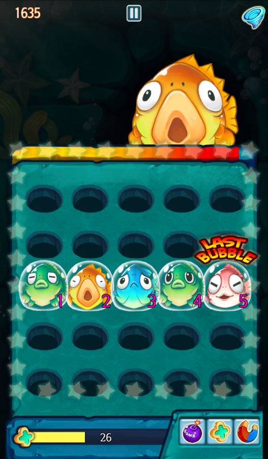 Bubble Dug - Revienta burbujas