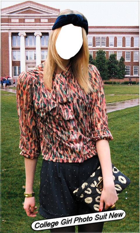 College Girl Photo Suit New