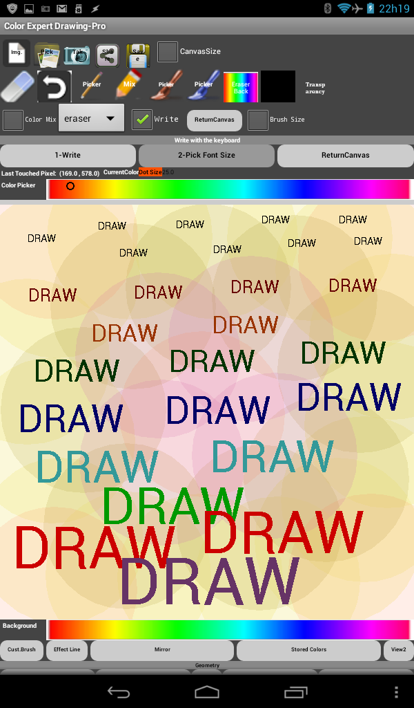Color Expert Drawing