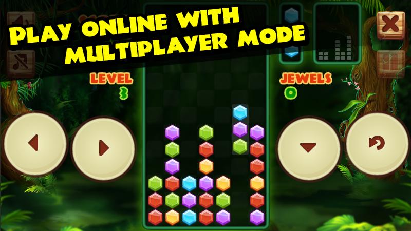 Columns Jungle (Multiplayer)