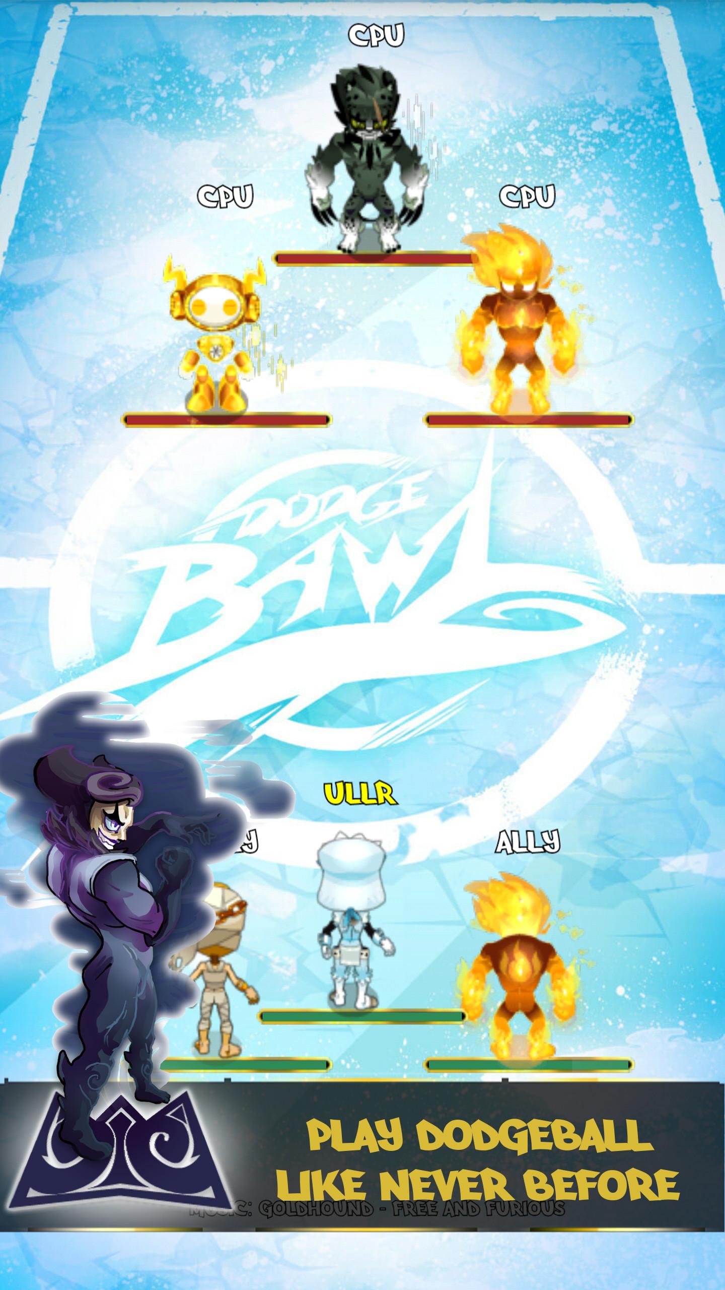 DodgeBawl Online: Be Dodgeball