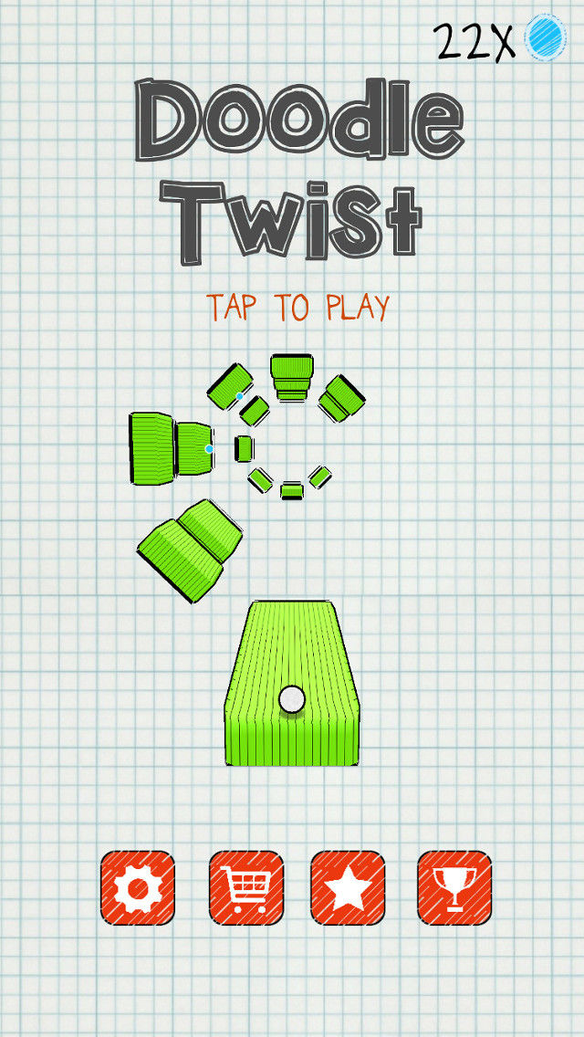 Doodle Twist - Impossible Jump