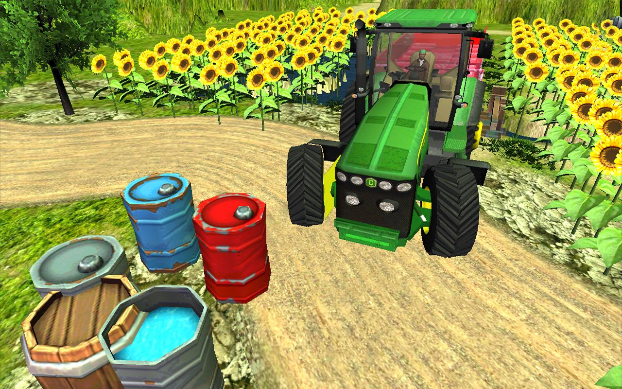 Drive Farm Tractor 2016
