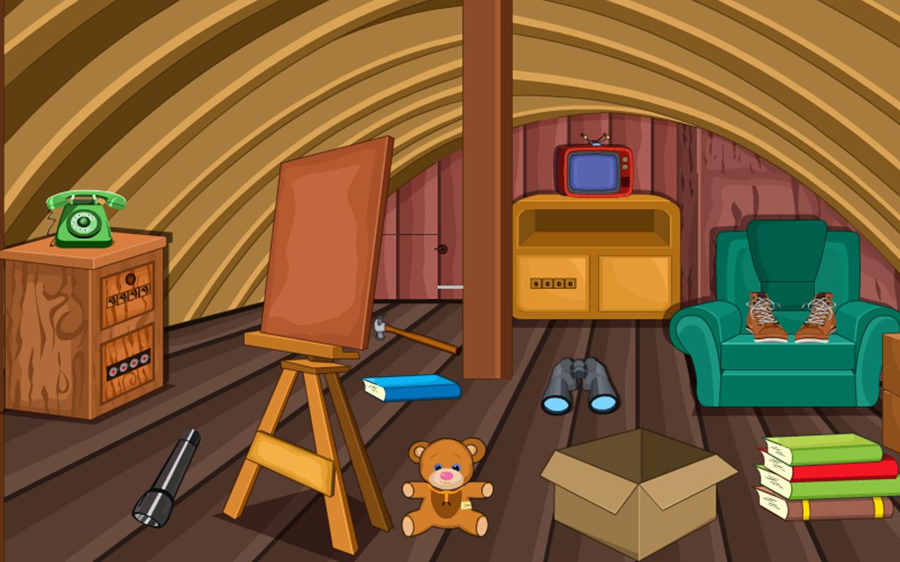 Escape Game-Attic Room