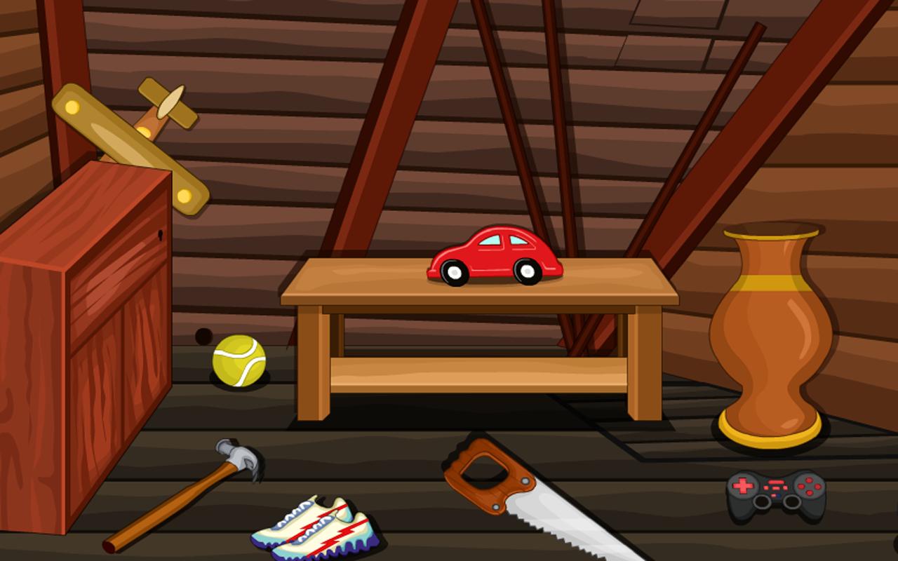 Escape game attic room for Escape room escape