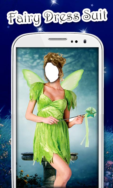 Fairy Dress Photo Suit
