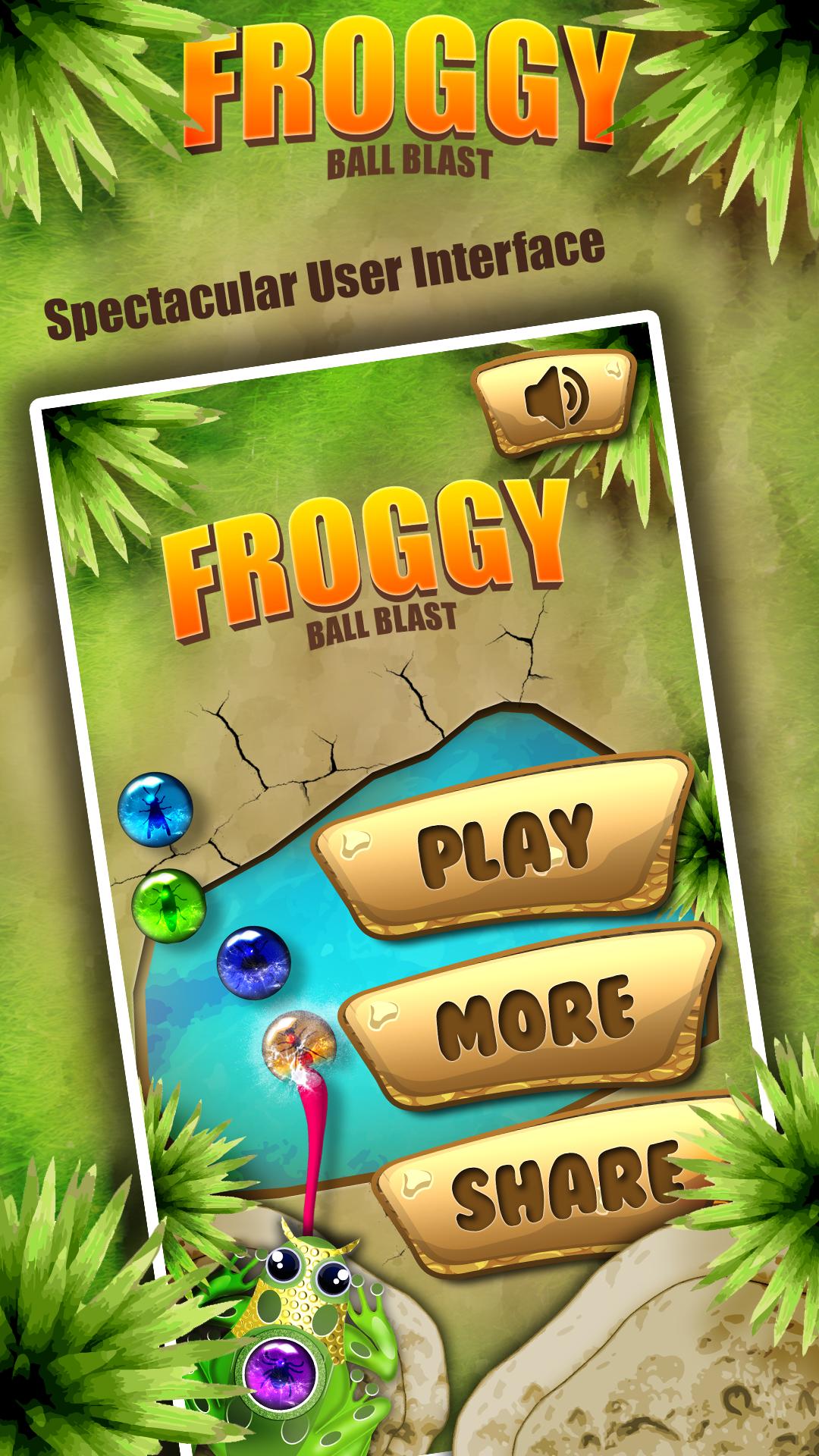 Froggy Ball Blast-Ballsshooter