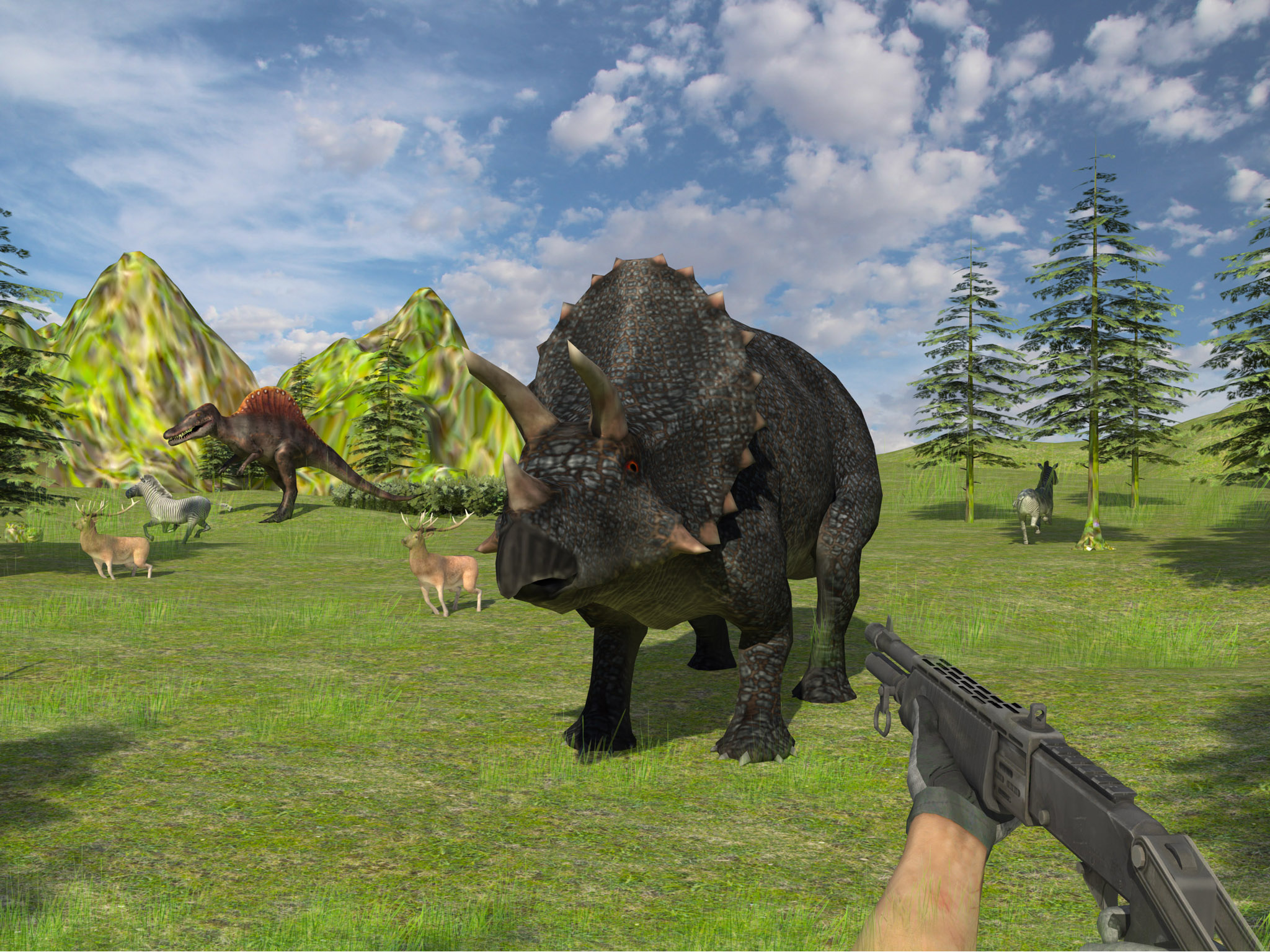 Grand Dino Auto Wild Hunting