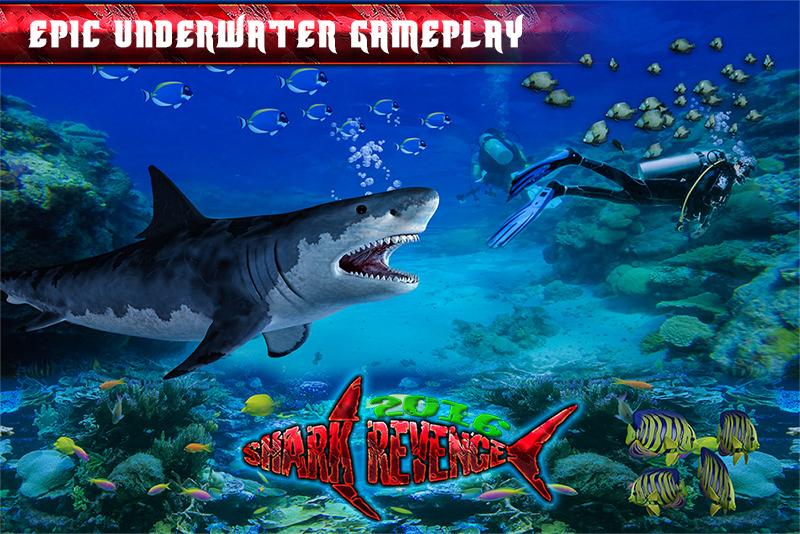 Hungry Blue Shark Revenge 2016
