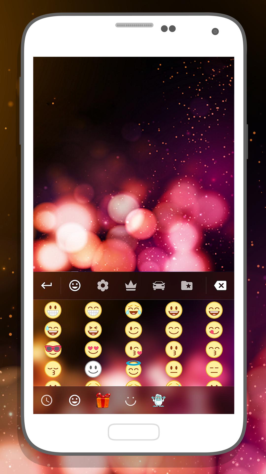 Keyboard Galaxy for Emoji