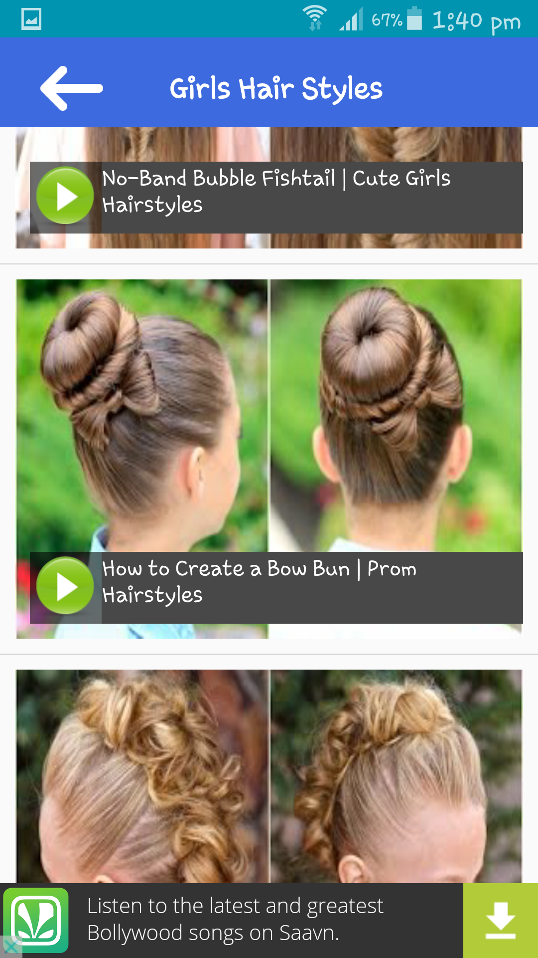 Latest Girls Hair styles
