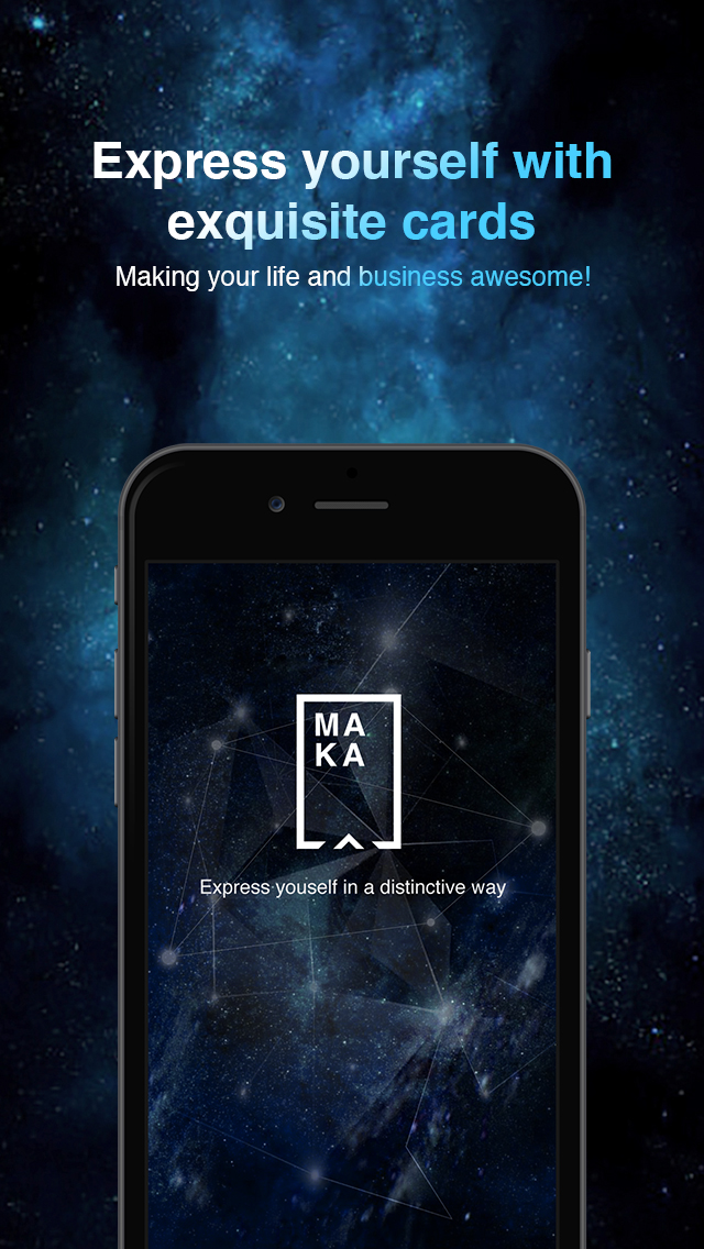 MAKA-Express yourself with exquisite cards