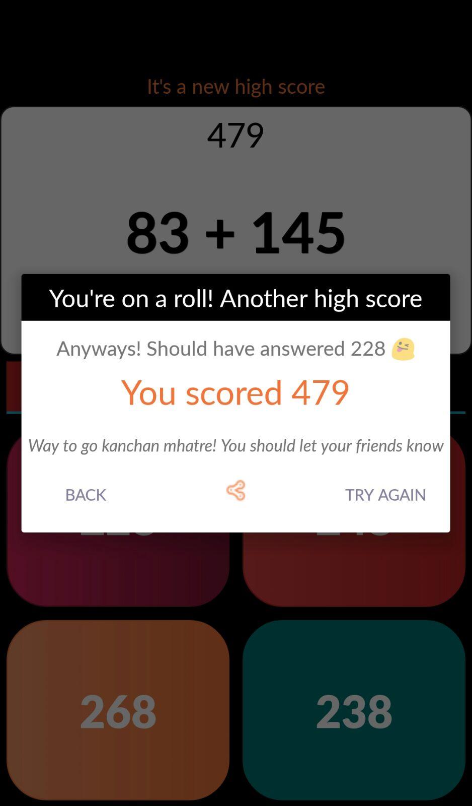 Mathster - Math Workout Game
