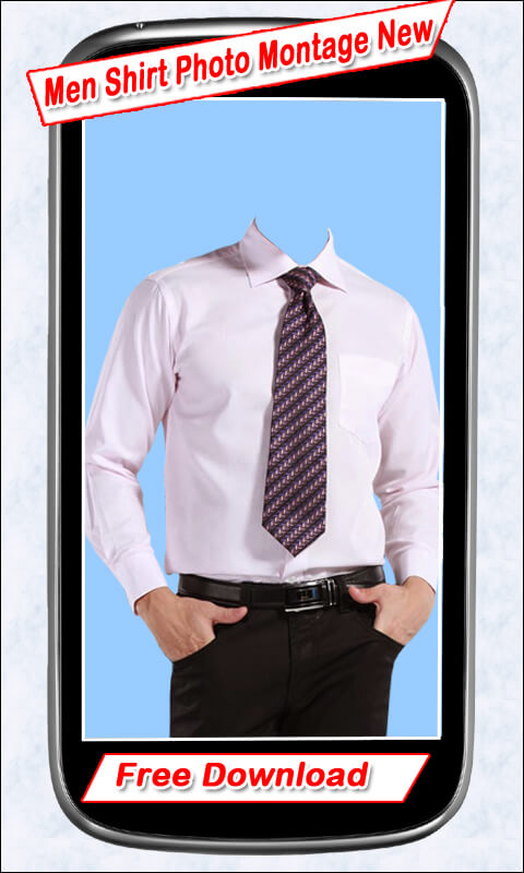 Men Shirt Photo Montage New