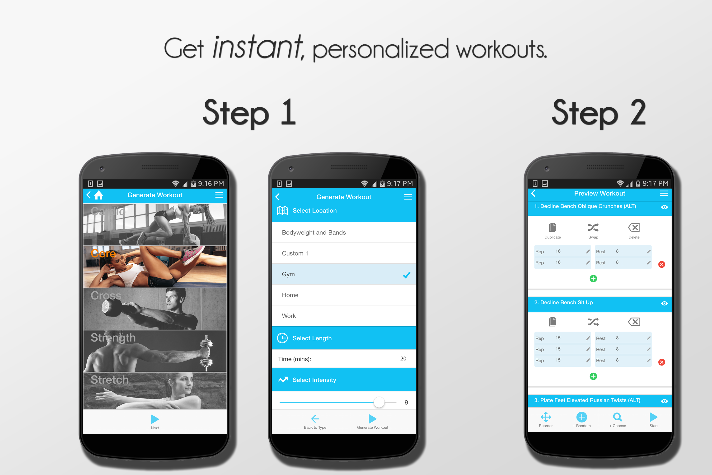 Updown Fitness: Workout Trainer