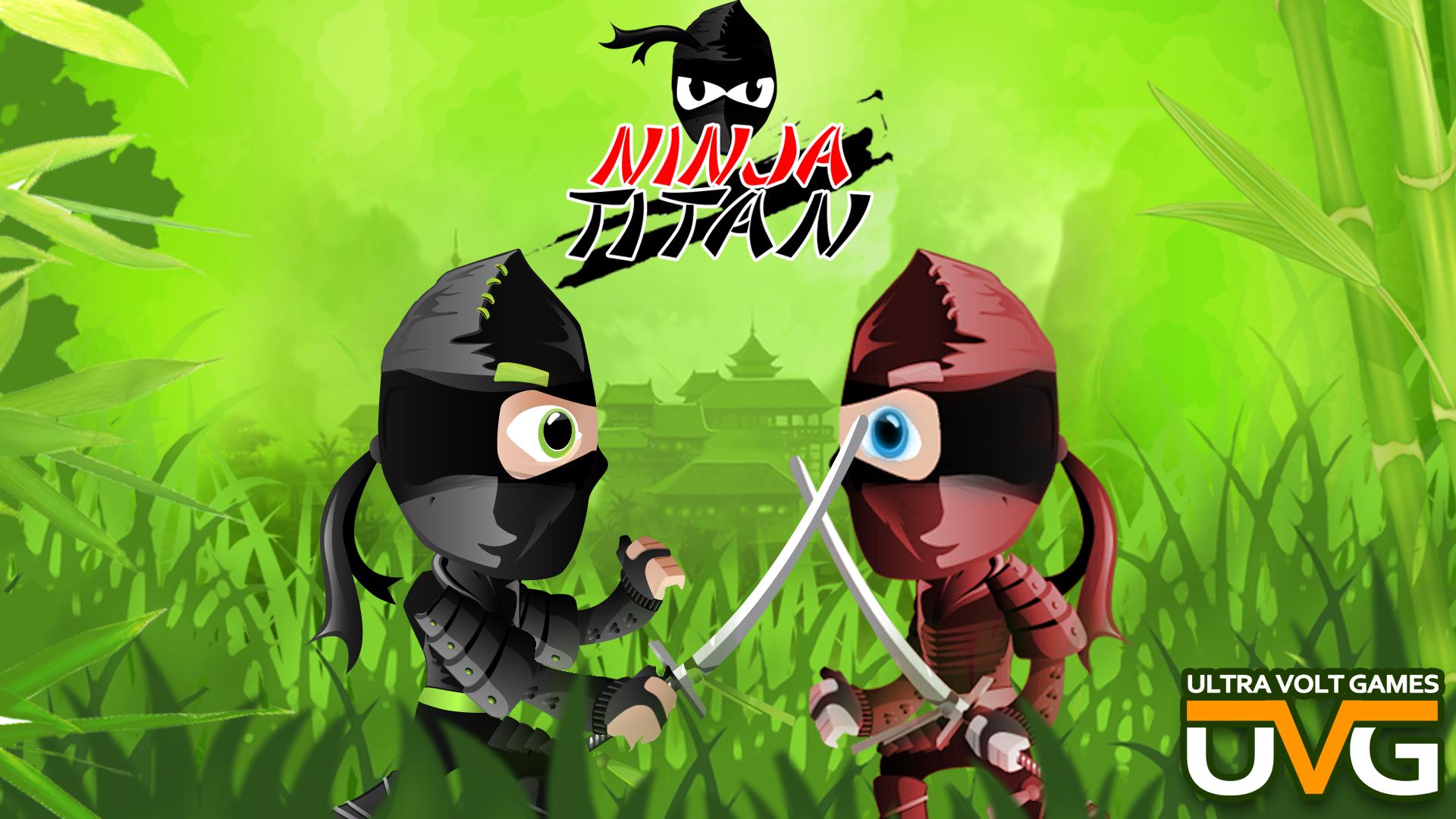 Ninja Titan-Ninja Shedow Fight