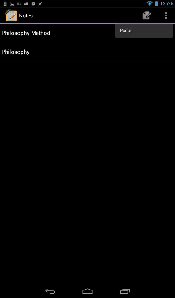 NoteAndro
