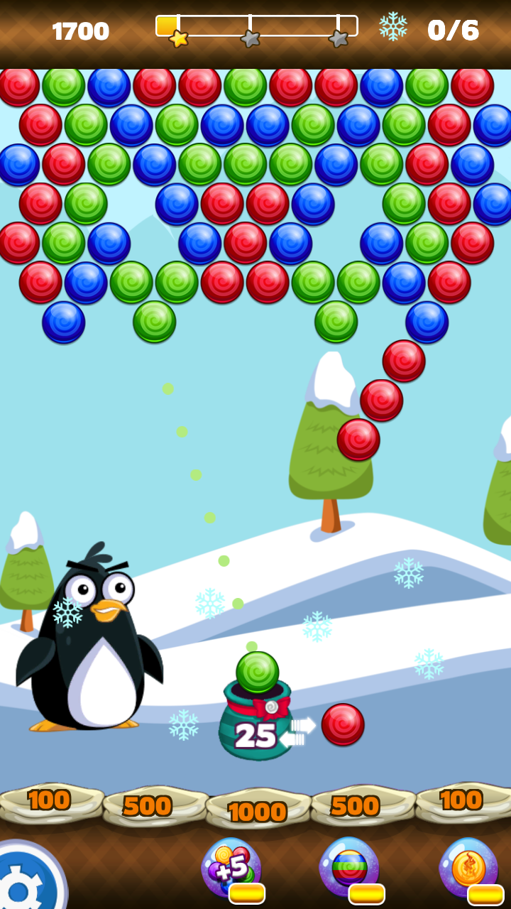 Penguin Bubble Shooter