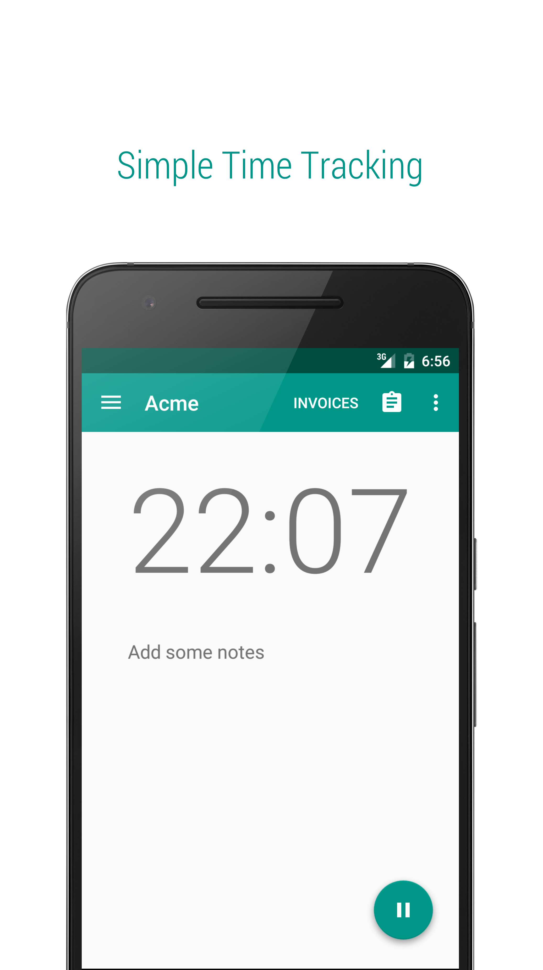 project log simple timesheet for freelancers