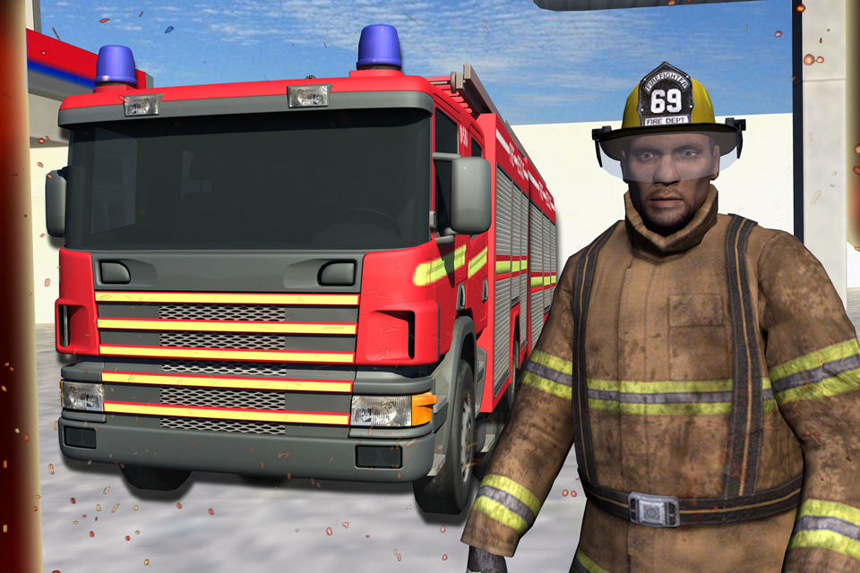 Real Hero FireFighter 3d Game