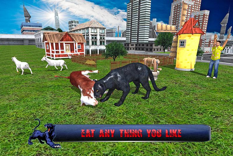 Real Panther Simulator 2016