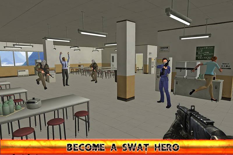 SWAT HERO : Kill Shot