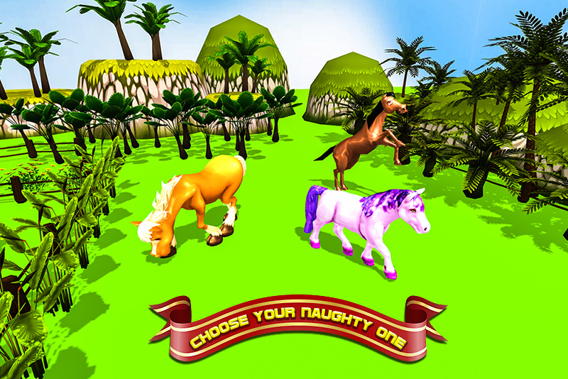 Ultimate Cartoon Horse Sim 3D