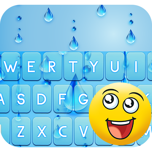 Water Theme for Emoji Keyboard