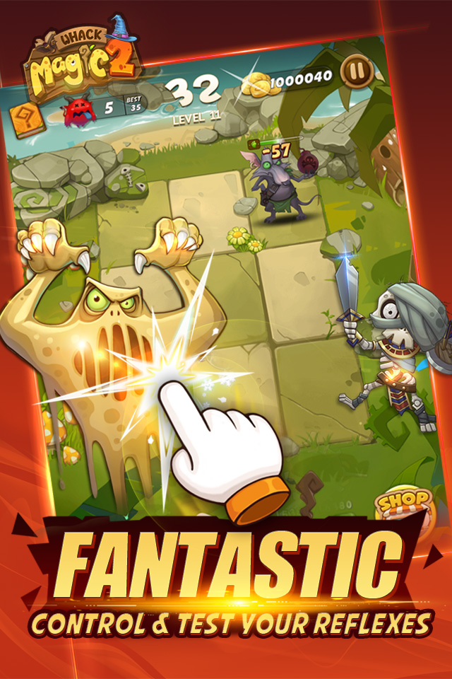 Whack Magic 2 - Swipe Tap Smash