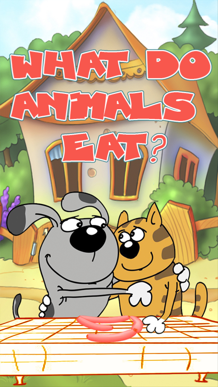 What do animals eat