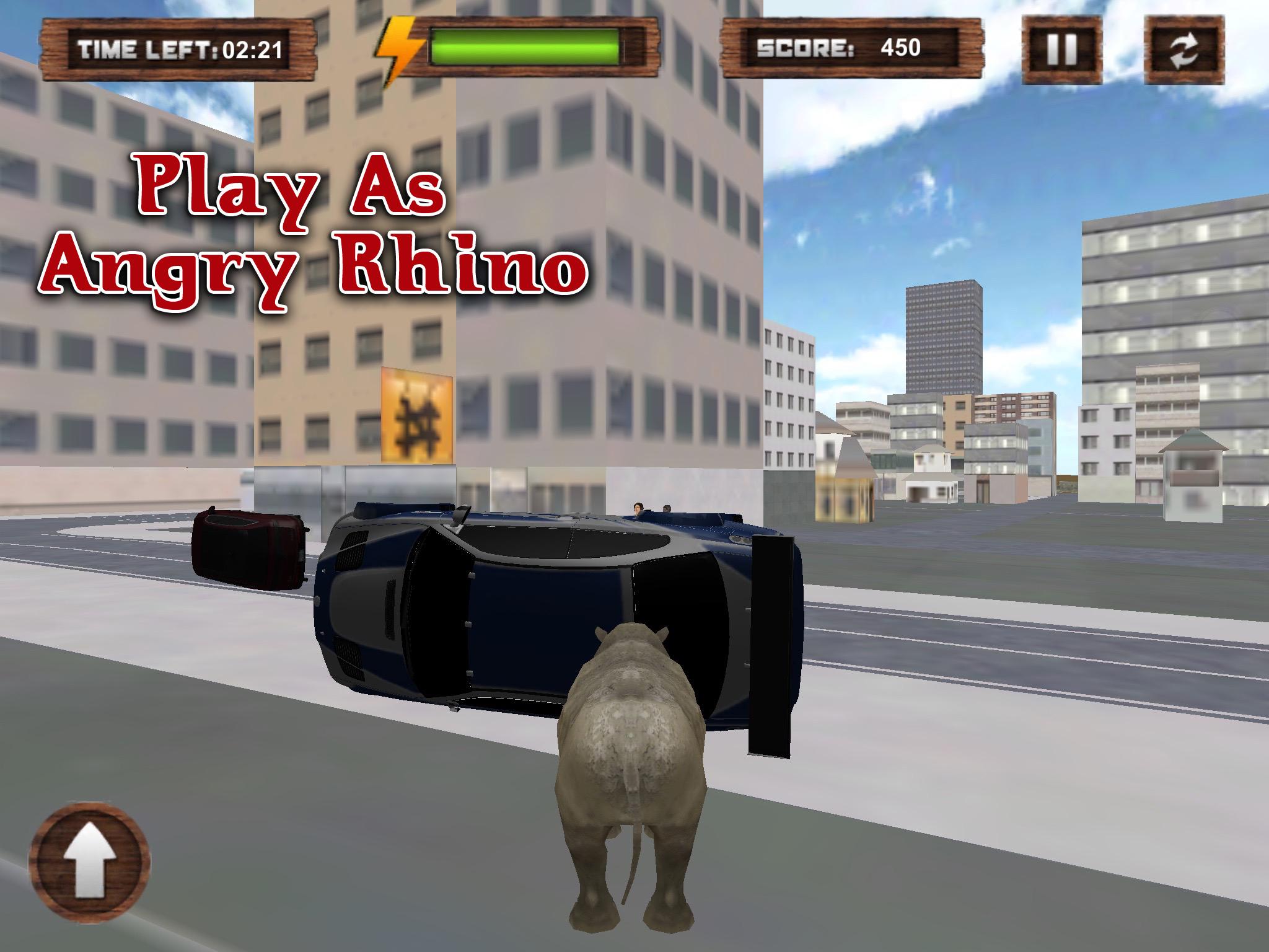 wild rhino city destroyer
