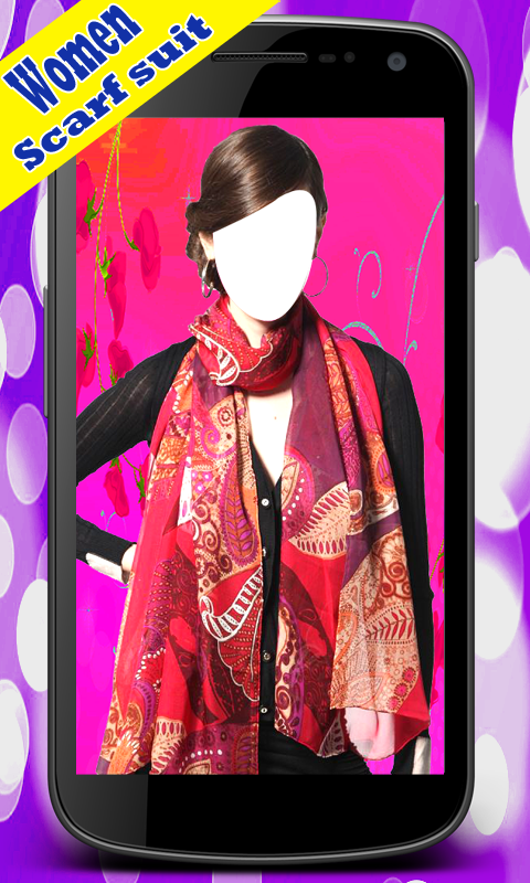 Women Scarf Suit New