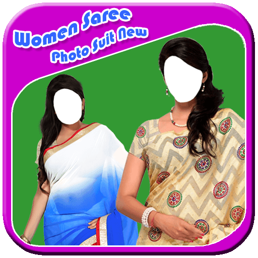Women Saree Photo Suit New