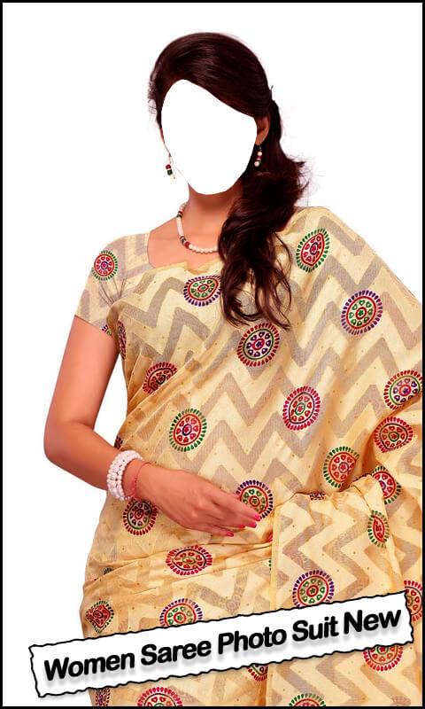 Women Saree Photo Suit New
