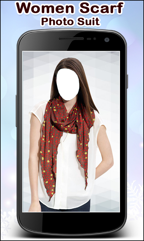 Women Scarf Photo Suit New