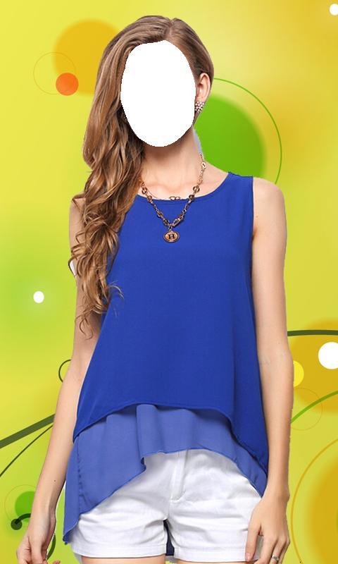 Women Sleeveless Dress Suit