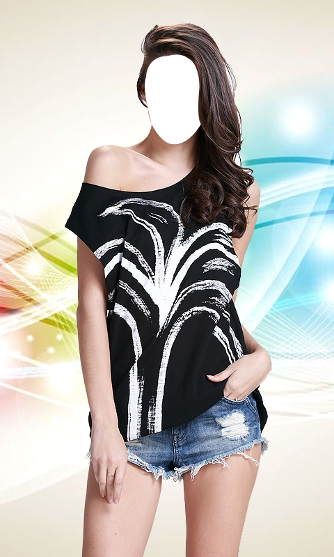 Women Tank Top Photo Suit