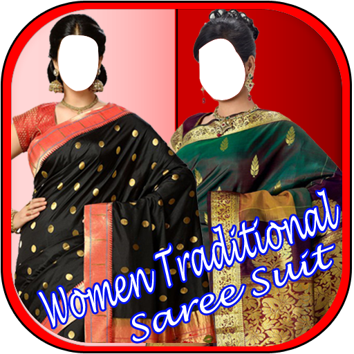 Women Traditional Saree Suit New