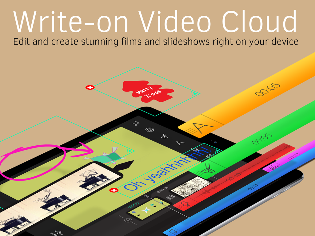Write-on Video Cloud