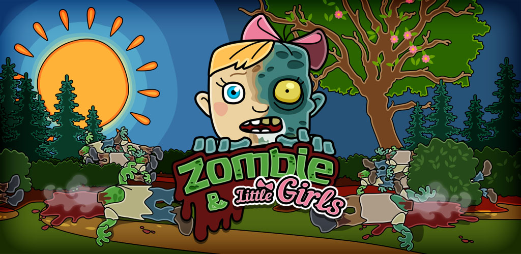Zombie and Little Girls