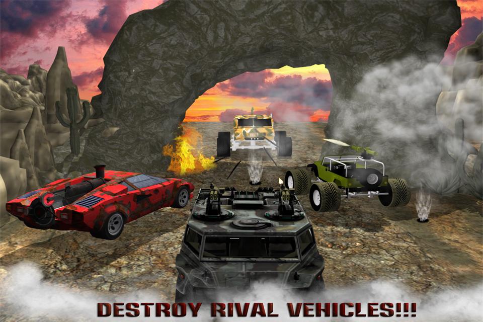 4x4 Monster War Destruction