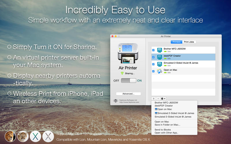 Air Printer Enables AirPrint from iPhone & iPad a Breeze