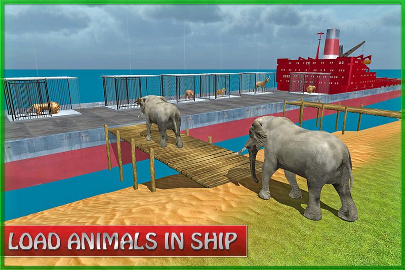 Animal Transport Cargo Ship