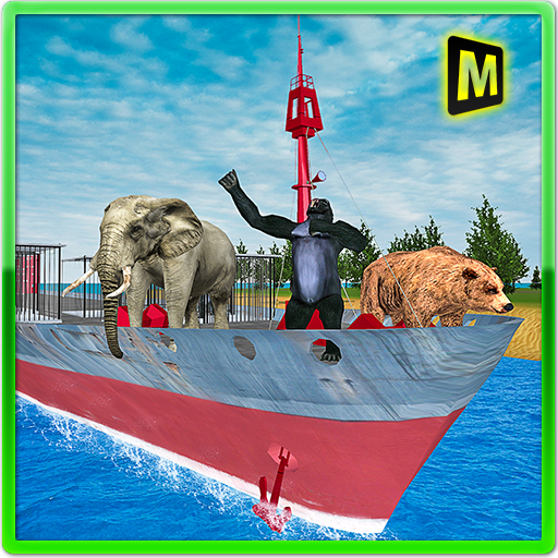 Animal Transport Cargo Ship