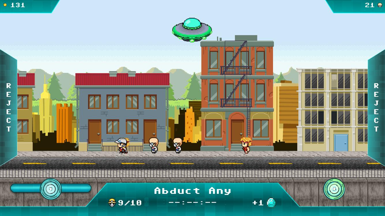 Crazy Alien Invaders
