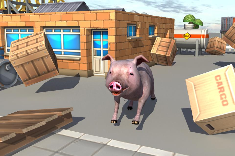 crazy piggies 3d simulator