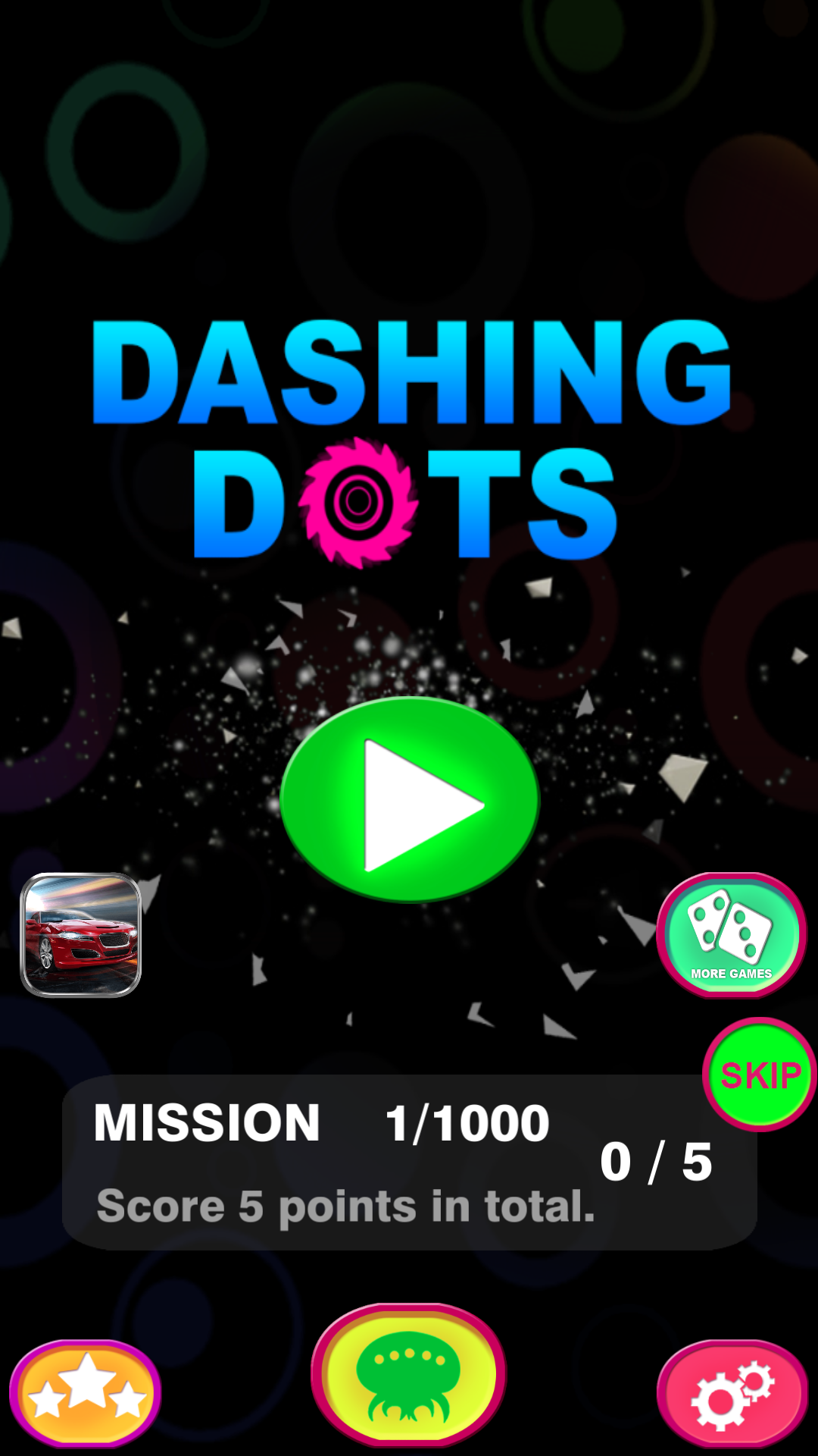 Dashing Dots