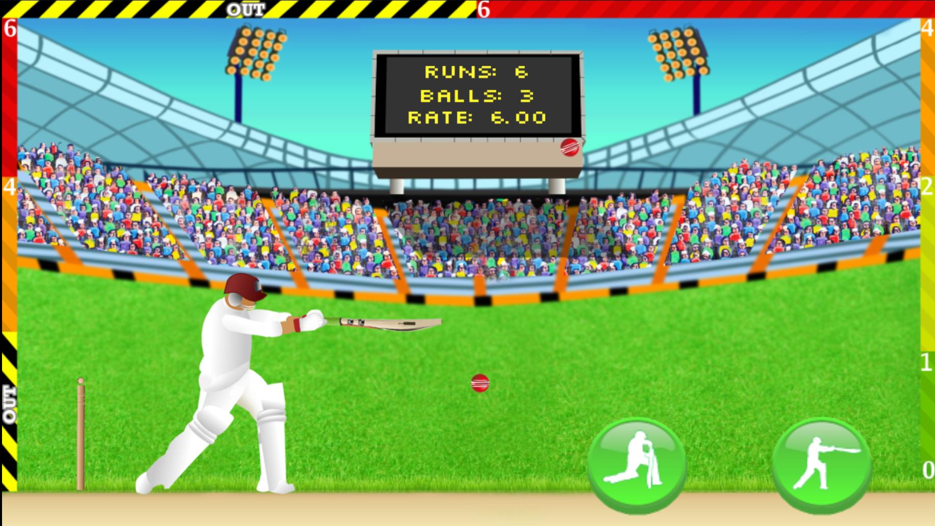 Defend the Wicket - Cricket