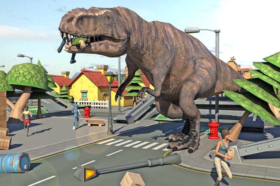 Dino Grand City Simulator