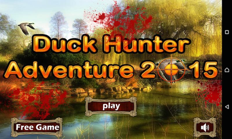 Duck Hunter Adventure 2015